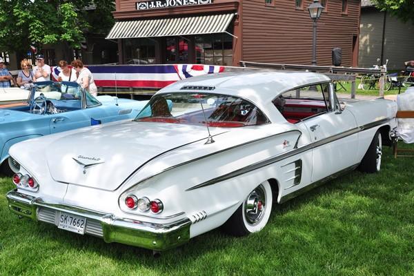 1958 Chevrolet Impala Sport Coupe RR John Siefert