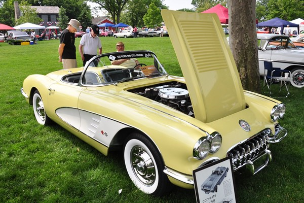 1958 Corvette Richard Pinke