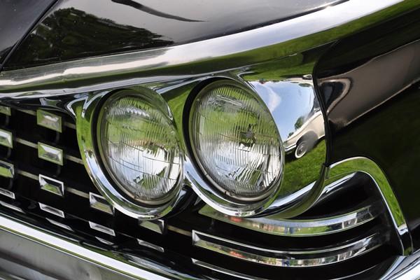 1959 Buick Electra 225 Convertible headlamp Nicholas Chapekis