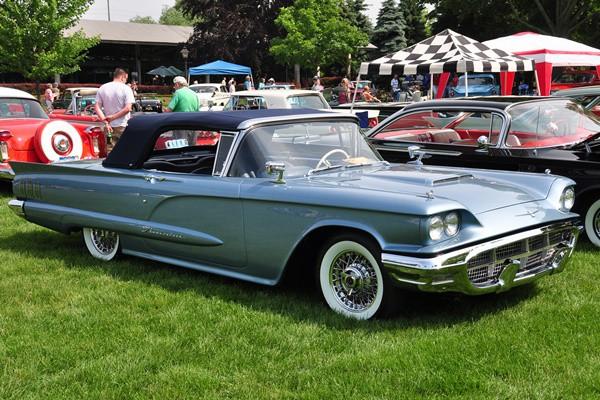 1960 Ford Thunderbird Convertible Charles Lane