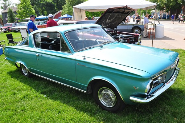 1964 Plymouth Barracuda Mark Tomes
