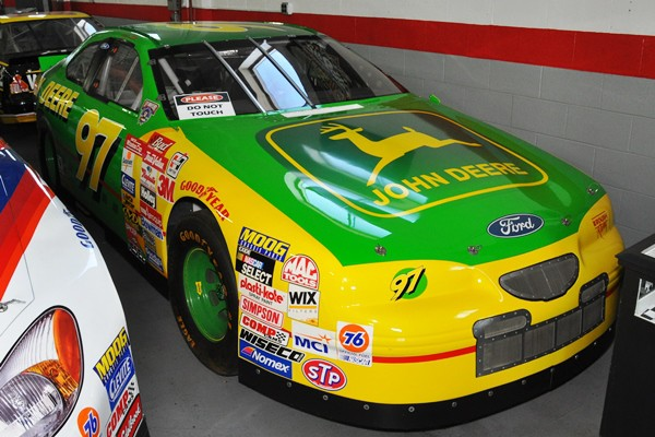 Chad Little Roush NASCAR Thunderbird John Deere