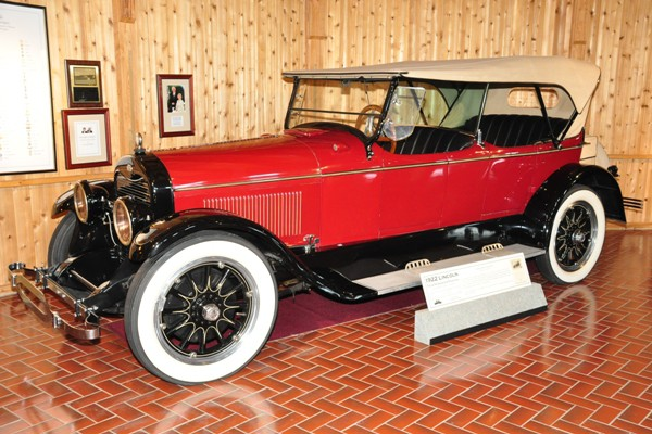 1922 Lincoln Four-Passenger Phaeton
