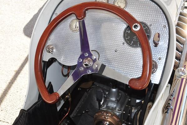 1926 Miller 91 cockpit Tom Barbour
