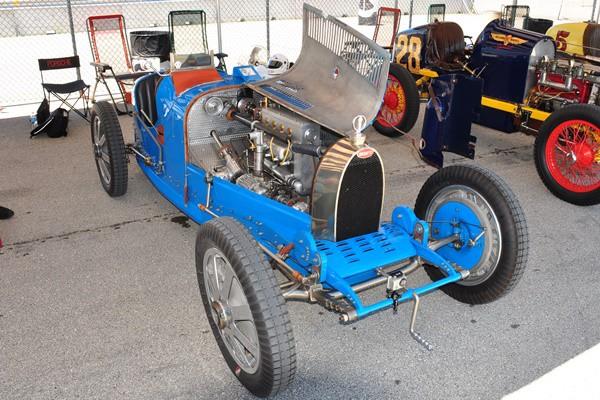 1927 Bugatti 37A Dennis Holloway paddock