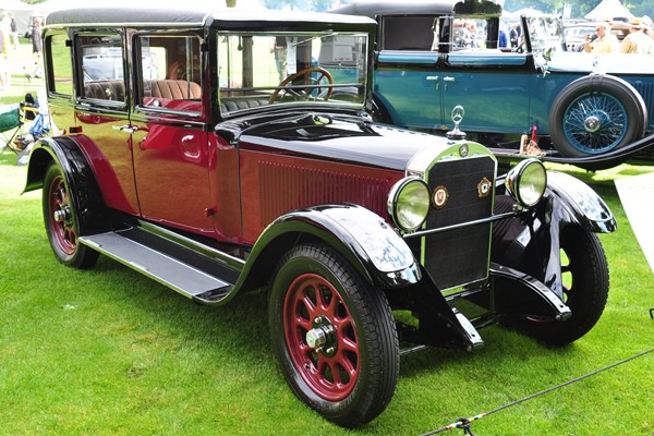 1927 Mercedes-Benz Taxicab Edmund M. Chung