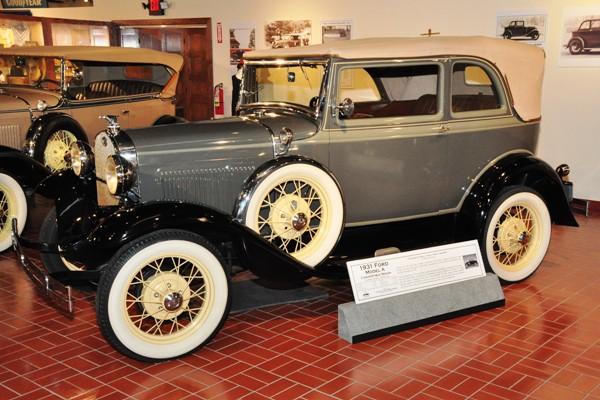 1931 Ford Model A Convertible Sedan