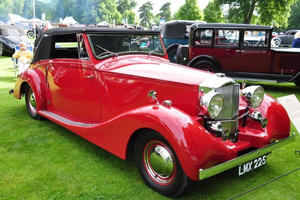 1936 Railton F28 Fairmile Convertible Ernst Hillenbrand