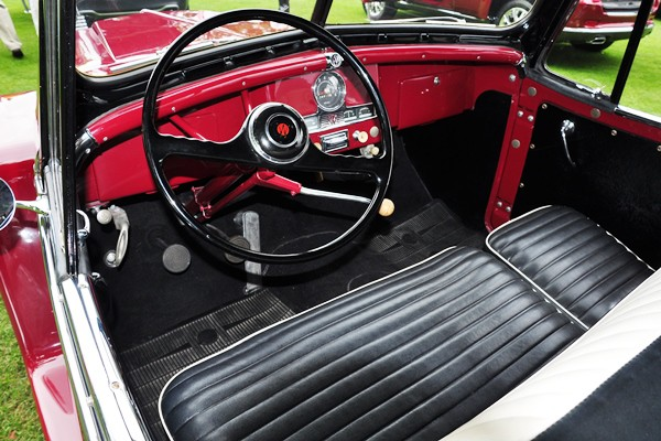 1950 Willys-Overland Jeepster Chrysler Historical Collection dash