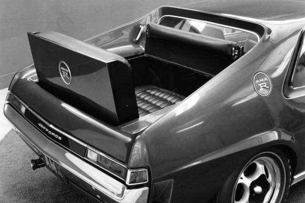 1968 AMC Jeffords AMX R Ramble seat