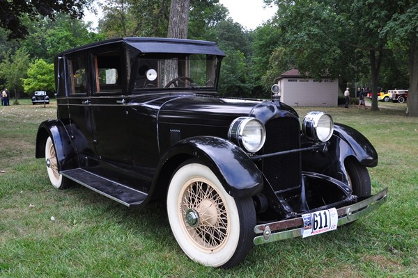 1925 Duesenberg four-door sedan Shawn Miller