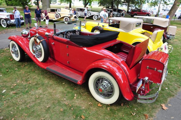 1930 Cord L-29 Cabriolet rear Thomas Lee
