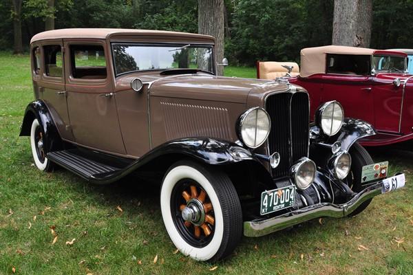 1931 Auburn 8-101A Touring Sedan Robert Gibson