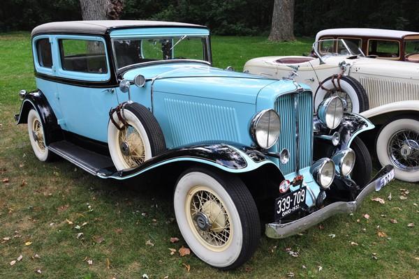 1932 Auburn 8-100A Brougham Lawrence Kanary