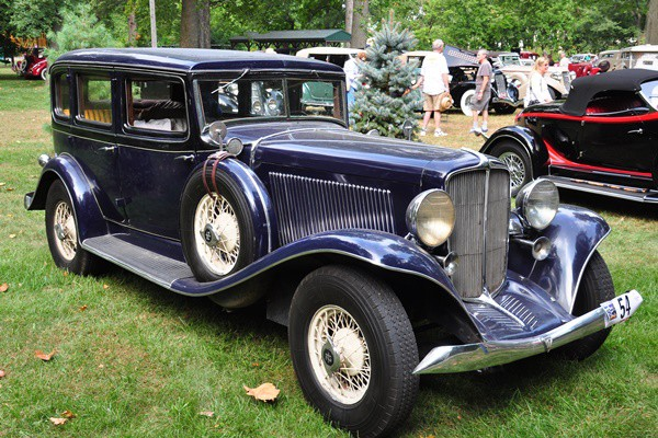 1933 Auburn 8-105 Convertible Sedan Thomas Quick