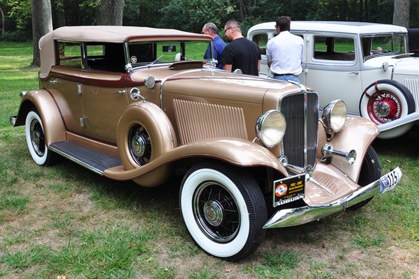 1933 Auburn 8-105A Phaeton Allan and Patricia Hatch