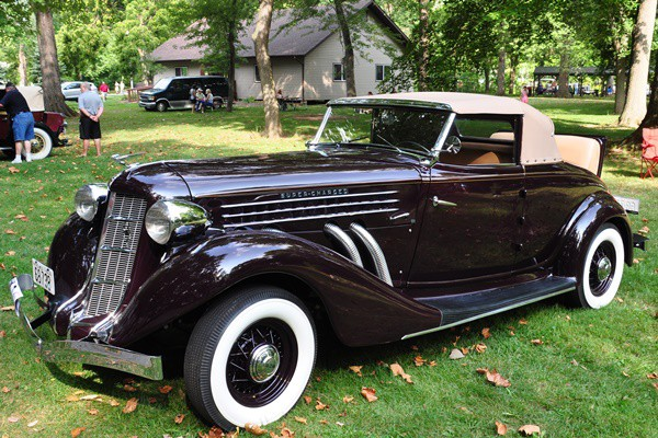 1935 Auburn 851 Cabriolet Joe and Debbie Guckert