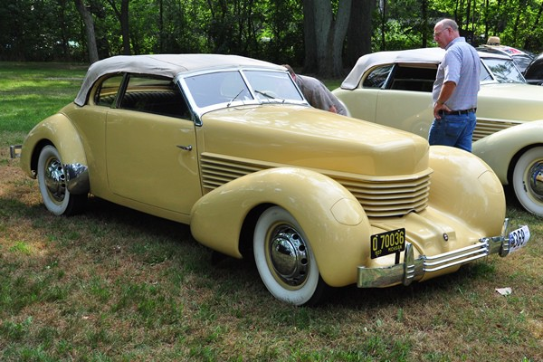 1937 Cord 812 Phaeton Curt Stebbins
