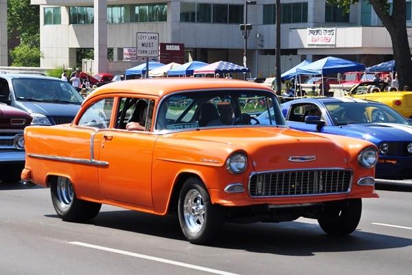 1955 Chevrolet 210 2D sedan