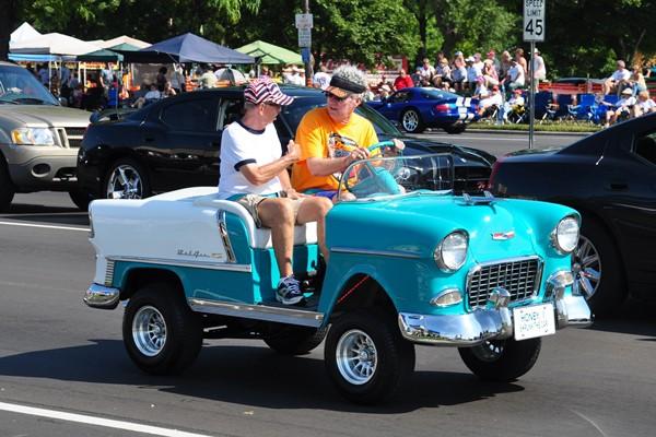 1955 Chevrolet golf car