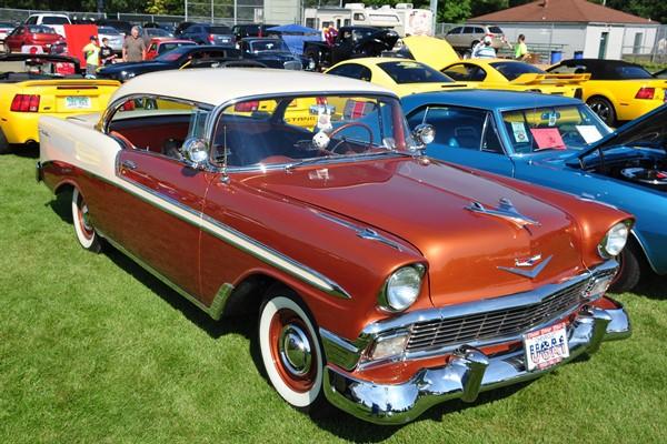 1956 Chevrolet Bel Air two-door hardtop
