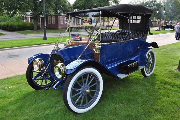 1912 Buick Model 35 Touring Bob and Pam Brown