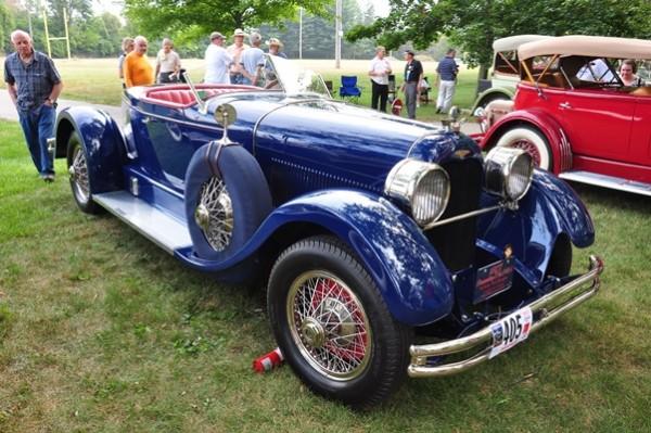 1927 Duesenberg X Boattail Roadster Peter Heydon