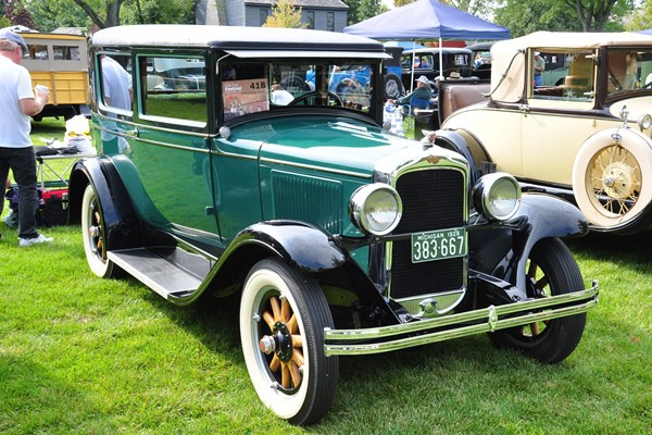 1928 Pontiac Coach William Atwood