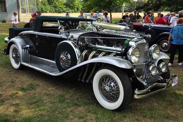 1929 Duesenberg J Murphy Convertible Coupe Paul and Linda Gould