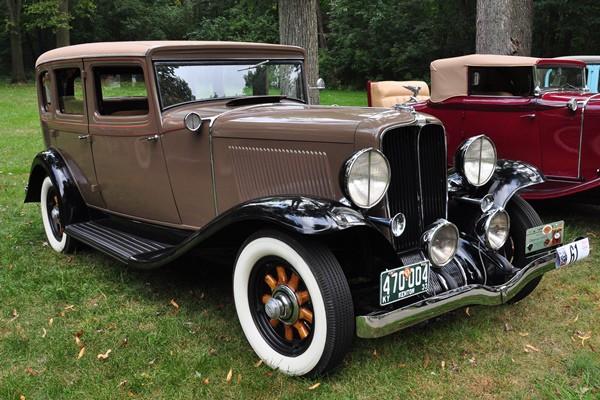 1933 Auburn 8-101A Touring Sedan Robert Gibson