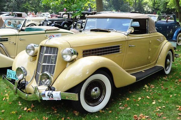 1935 Auburn 851 Cabriolet Tom Mettler