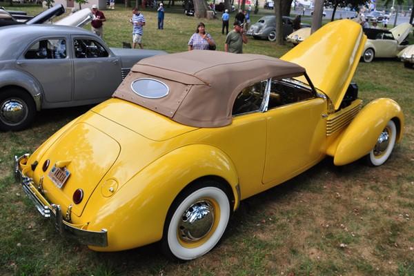 1936 Cord 810 Phaeton Hugh McKnight