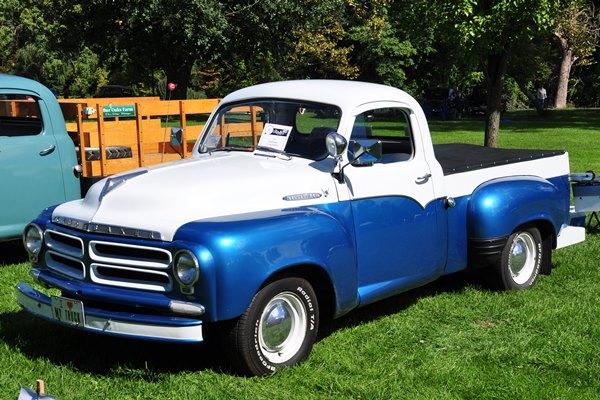 1955 Studebaker Half-ton Pickup V8 Dan and Jean Kessler