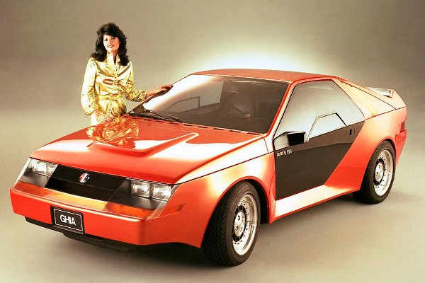 1980 Mustang RSX concept Ghia