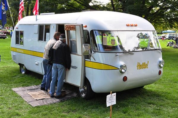 Paul Piche 1968 Corvair Ultravan motor home