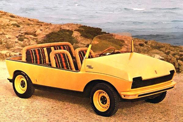 1969 Fiat 128 Pinfarina Teenager Concept