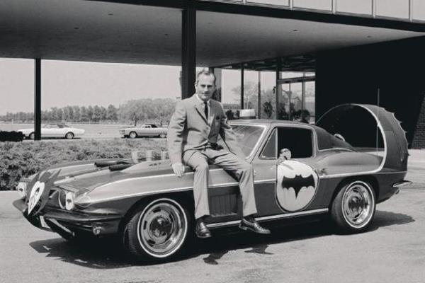 Corvette Batmobile with Chuck Jordan