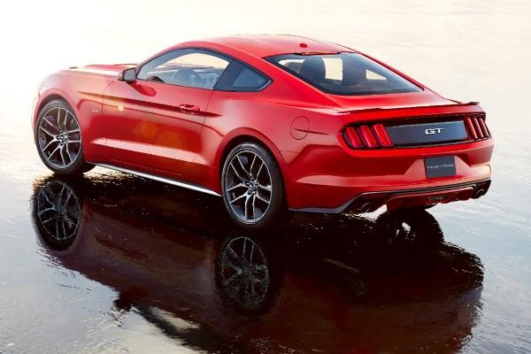 2015 Mustang left rear wet