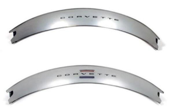 Corvette dash trim comparison