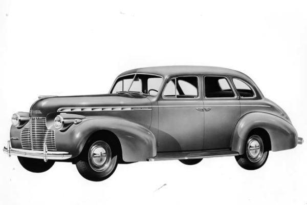 1940 Chevrolet Master Deluxe Sedan