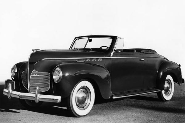 1940 DeSoto Convertible Coupe