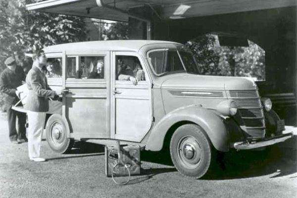 1940 International Station Wagon