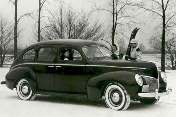 1940 Mercury Fordor Sedan