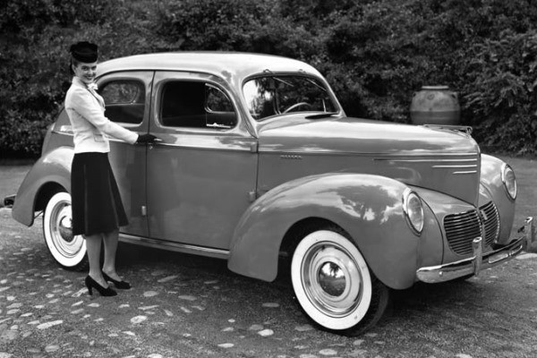 1940 Willys Deluxe Sedan