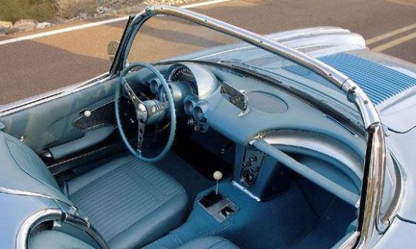 1958 Corvette cockpit