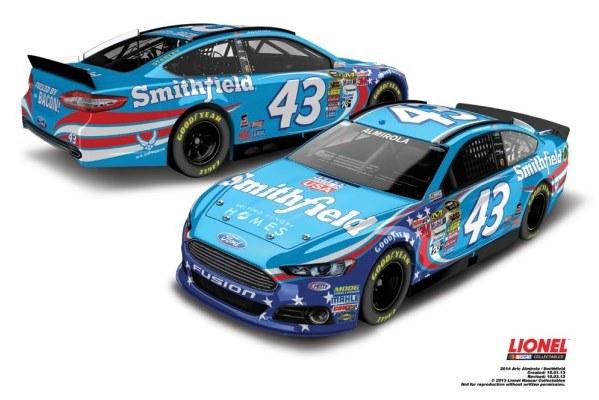 Aric Almirola 43 Smithfield Ford