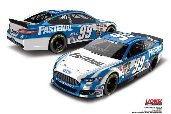Carl Edwards 99 Fastenal Ford