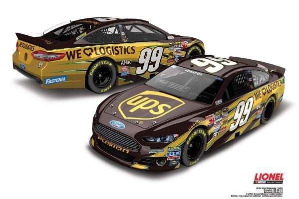 Carl Edwards 99 UPS Ford