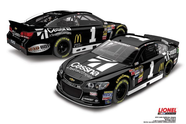 Jamie McMurray 1 Cessna Chevrolet