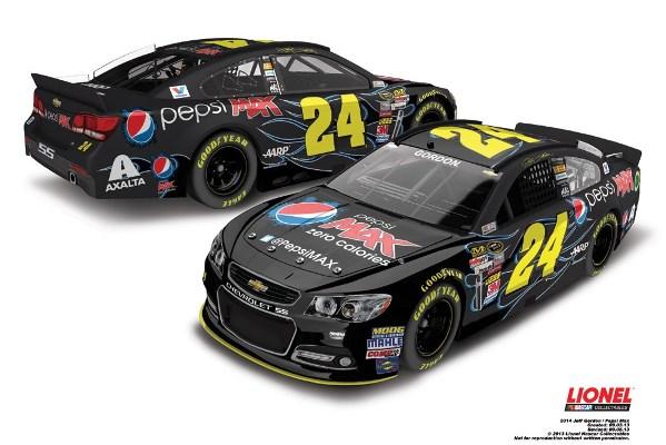 Jeff Gordon 24 Pepsi Max Chevrolet